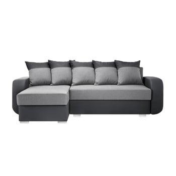 Canapea cu șezlong partea stângă Interieur De Famille Paris Destin gri