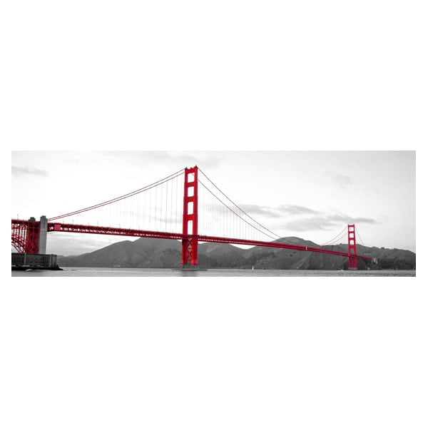 Obraz na skle San Francisco, 40x120 cm