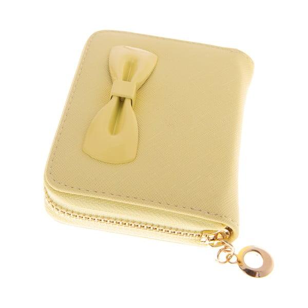 Dámská malá peněženka Ladiest, žlutá