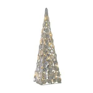 Světelná vánoční dekorace Naeve Pyramid, výška 60 cm