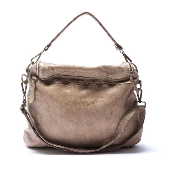 Kožená kabelka Mangotti 0009, kámen