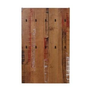 Nástěnný věšák z masivního borovicového dřeva Støraa Santana