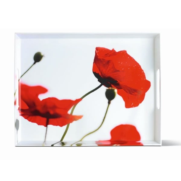 Podnos Classic Corn Poppies, 40x31 cm