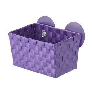 Fialový košík s přísavkami Wenko Fermo