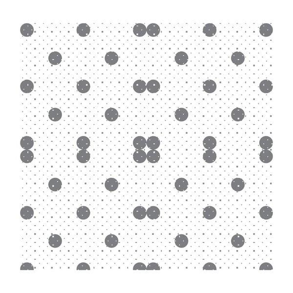 Tapeta Dots Grey