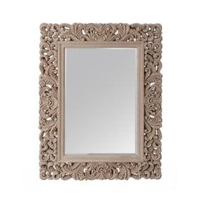 Šedo-zlaté zrcadlo Ixia Gris Oro, 66 x 86 cm