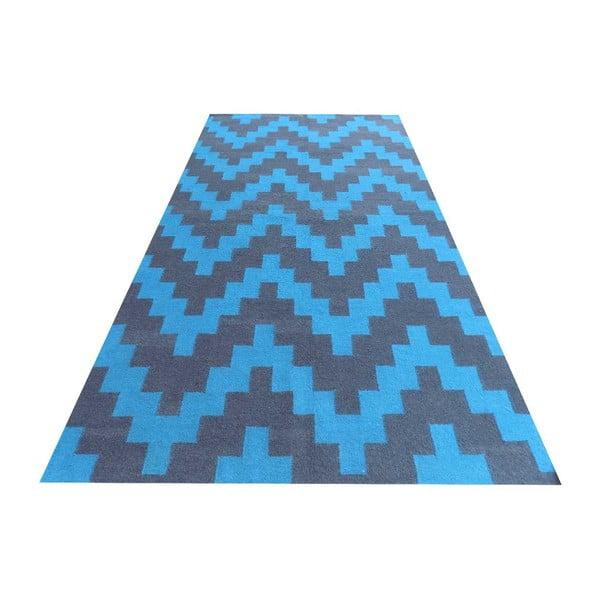 Vlněný koberec Kilim Modern 43, 100x160 cm