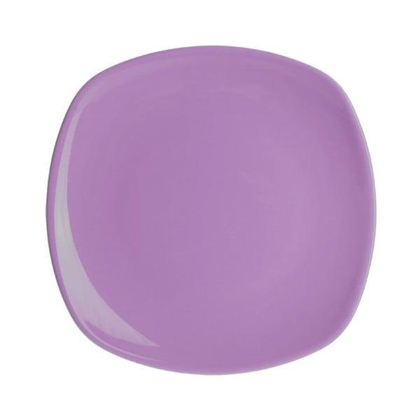 Sada šesti dezertních talířů 19 cm, lila