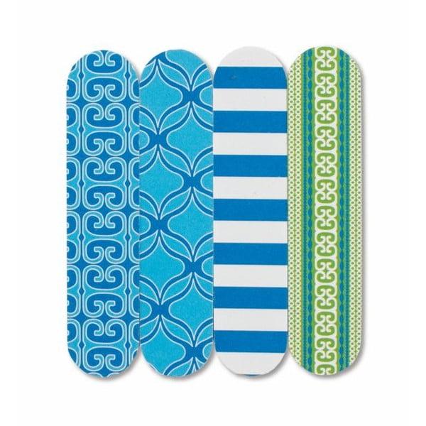 Sada čtyř mini pilníků Blue Sea Spa