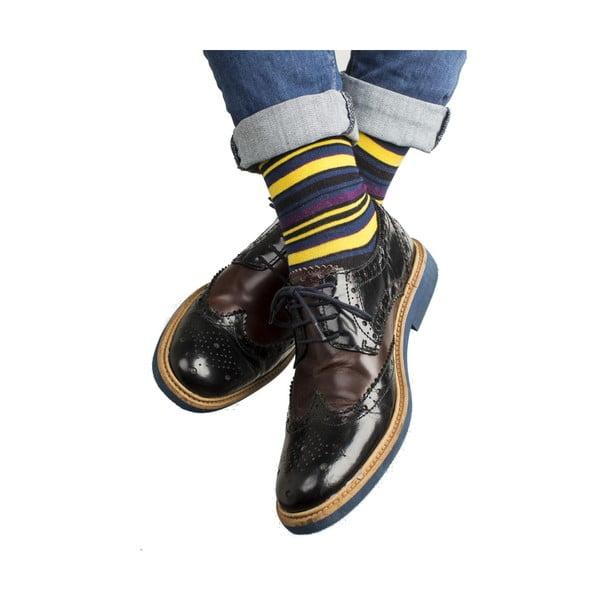 Sada 3 párů unisex ponožek Funky Steps Florino, velikost39/45