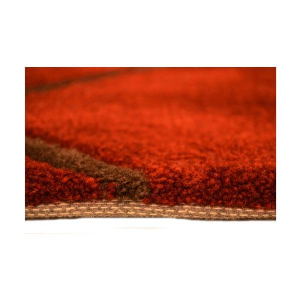 Ručně tkaný koberec Pluto, 140x200 cm, červený