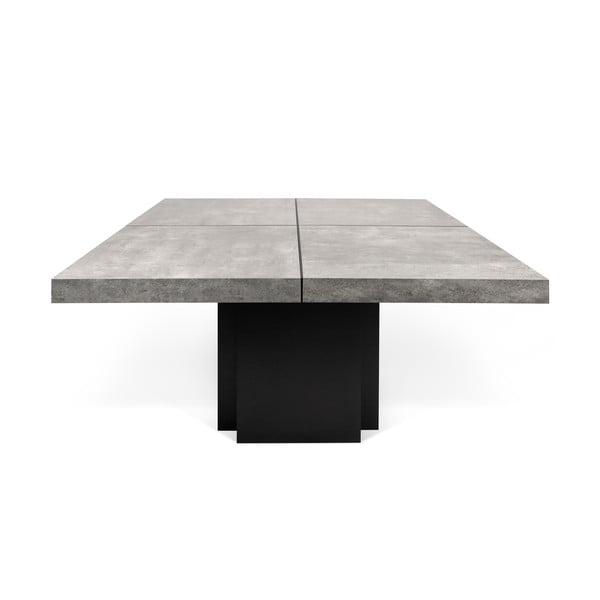 Jídelní stůl s dekorem betonu TemaHome Dusk, 150cm