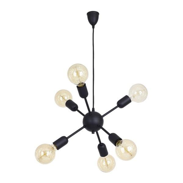 Czarna lampa wisząca Scorpius Grupo