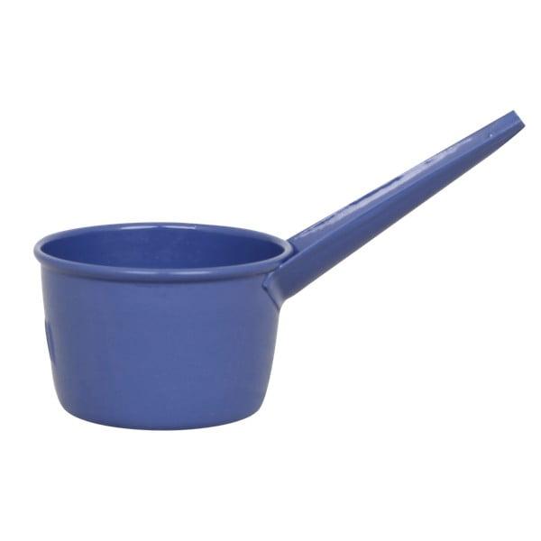 Modrá cínová odměrka Strömshaga, 1 dl
