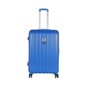 Modrý cestovní kufr LULU CASTAGNETTE Edge, 107l