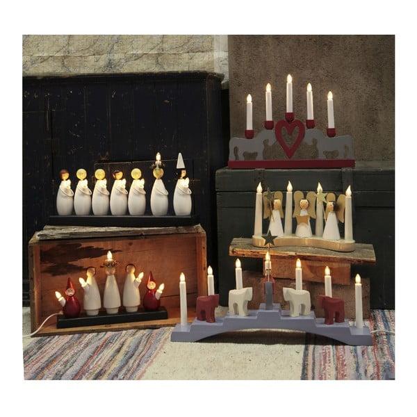 Svítící dekorace Staffans Falar