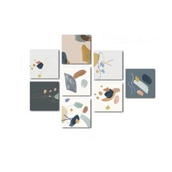 Set 8 tablouri Insigne Pastel