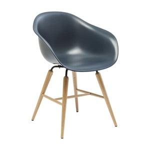 Tmavě modrá jídelní židle Kare Design Forum Object
