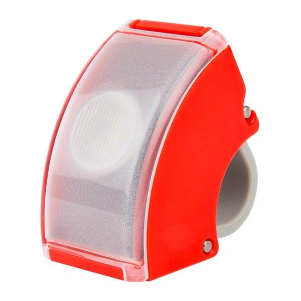 Červené USB přední světlo Bookman