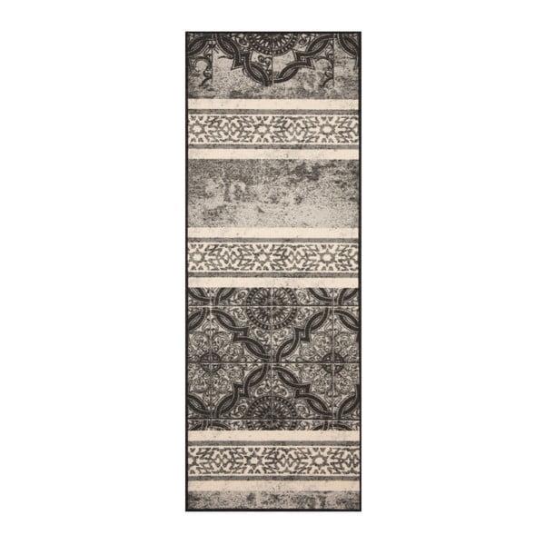 Hnědý běhoun Bougari Kitchen, 67 x 180 cm