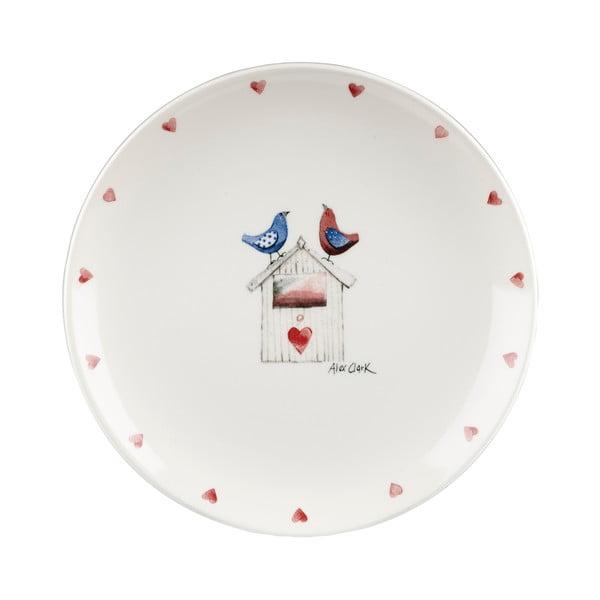 Talíř Two Lovebirds, 20 cm