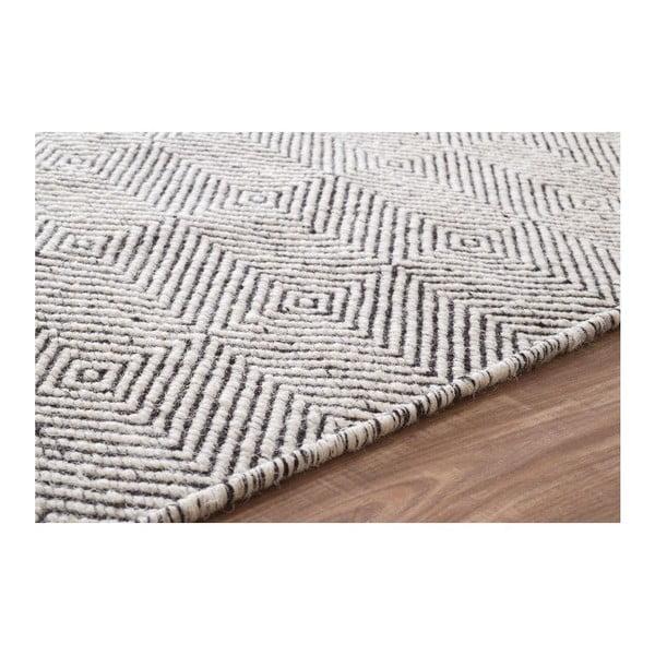 Vlněný koberec Silo Ivory, 120x183 cm