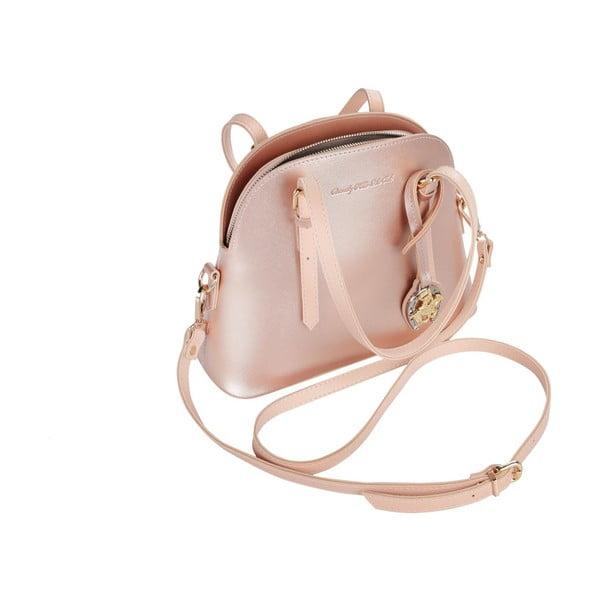 Světle růžová kabelka Beverly Hills Polo Club Dedra