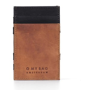 Kožené pouzdro na vizitky O My Bag Magic Wild Oak/Black
