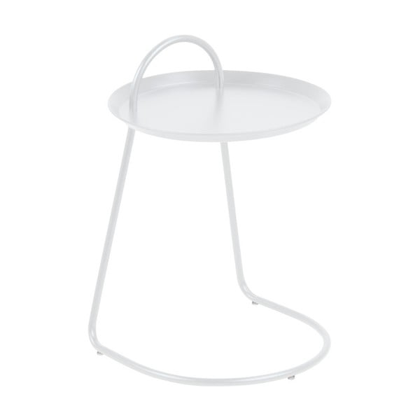 Bílý příruční stolek Actona Matlock