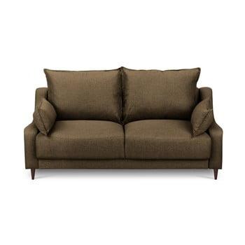 Canapea cu 2 locuri Mazzini Sofas Ancolie, maro de la Mazzini Sofas