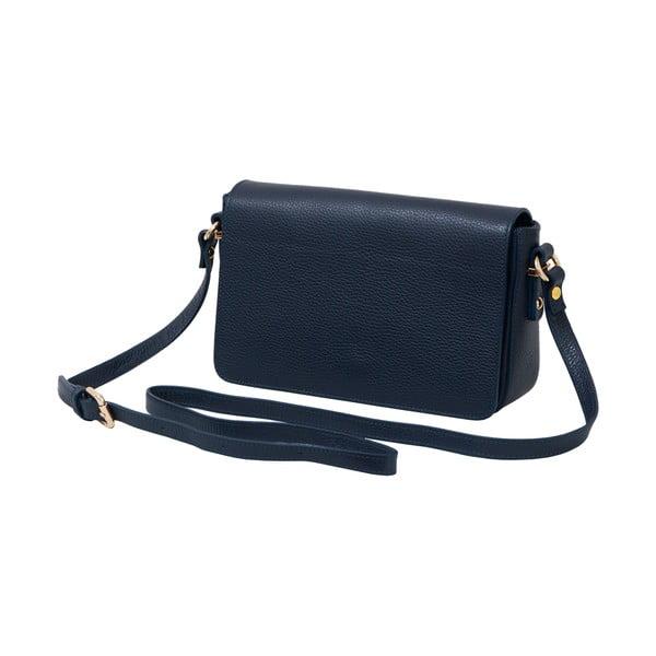 Tmavě modrá kabelka z pravé kůže Andrea Cardone Nicol