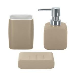 Koupelnový set Cubic Taupe