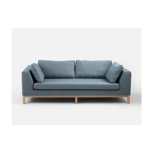 Canapea 3 locuri Custom Form Ambient, gri - turcoaz