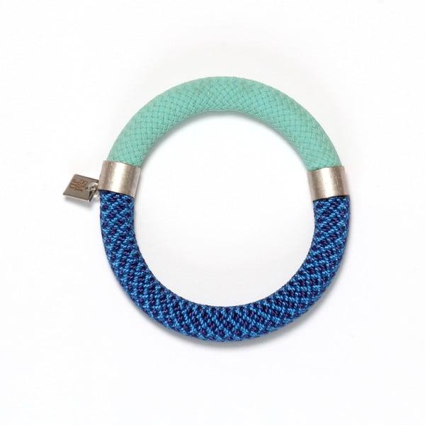 Náramek Mae Pistache /Blue, velikost S