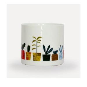 Květináč z porcelánu U Studio Design Little Plants, ø 8 cm
