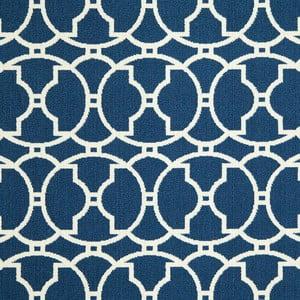 Modrý koberec Nourison Baja Paita, 229 x 160 cm