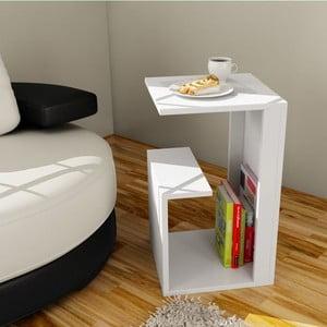 Multifunkční konferenční stolek Menekse White