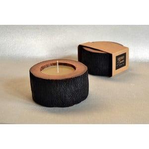 Palmová svíčka Legno Palma s vůní medu, 40 hodin hoření
