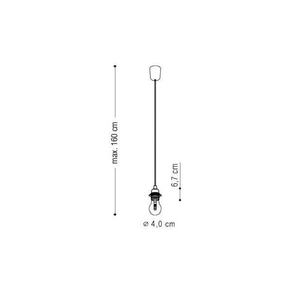Tři závěsné kabely Uno+, zelená/bílá