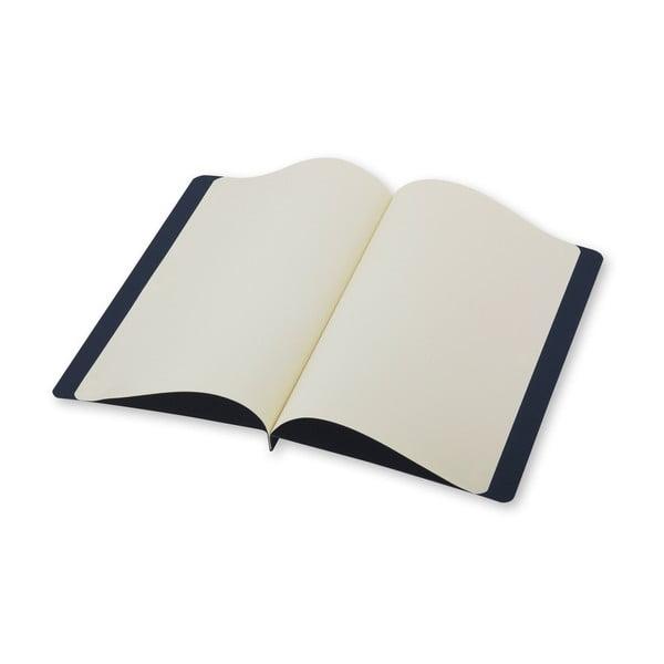 Tmavě modrý dopisní set Moleskine, zápisník + obálka