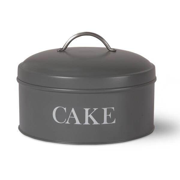 Šedý box na dort Garden Trading In Charcoal