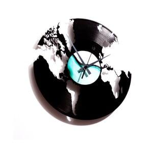 Vinylové hodiny World
