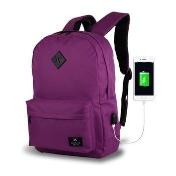 Rucsac cu port USB My Valice SPECTA Smart Bag, mov imagine