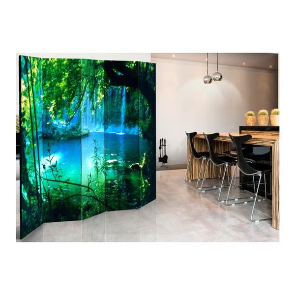 Paraván Artgeist Paradise Lake, 225 x 172 cm