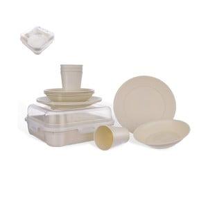 Set 13 ks kempovacího nádobí Orion Plastic