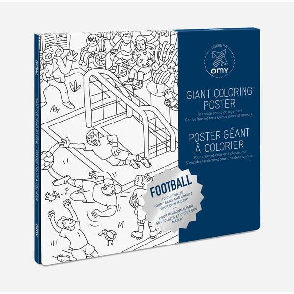 Omalovánka OMY Football (70 x 100 cm)