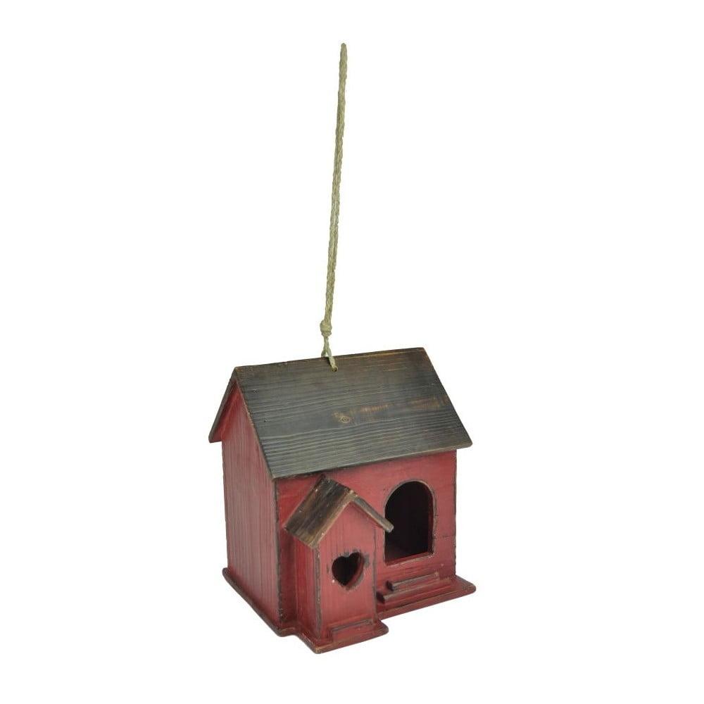 Červená ptačí budka AnticLineChalet