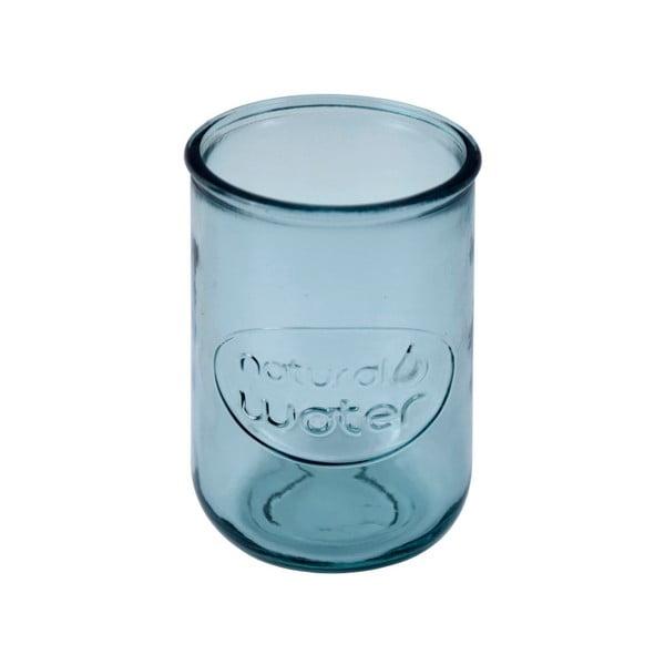 Modrá sklenice z recyklovaného skla Ego Dekor Water, 0,4 l
