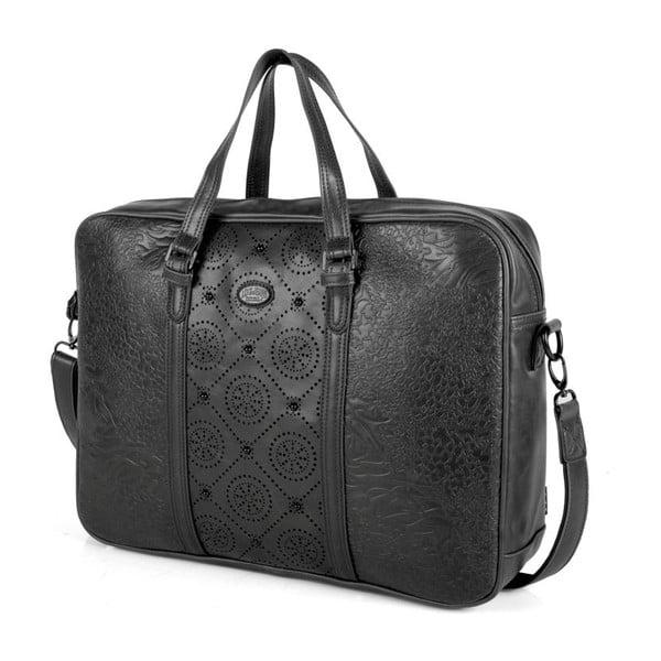 Černá taška na notebook Lois Decor