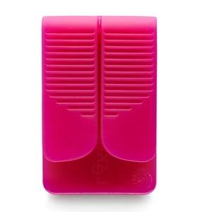 Silikonový obal na čajový sáček, fialový